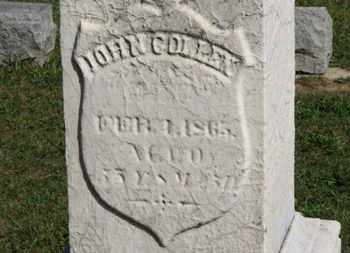 COLLEN, JOHN - Medina County, Ohio | JOHN COLLEN - Ohio Gravestone Photos