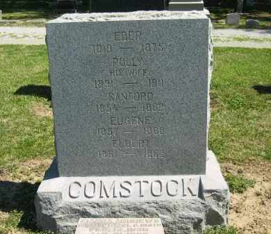 COMSTOCK, EBER - Medina County, Ohio | EBER COMSTOCK - Ohio Gravestone Photos