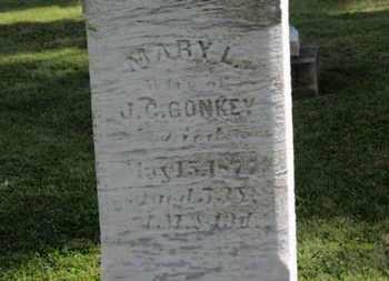 CONKEY, MARY L. - Medina County, Ohio | MARY L. CONKEY - Ohio Gravestone Photos