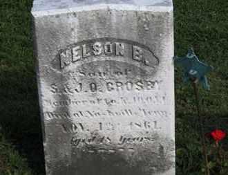 CROSBY, S. - Medina County, Ohio | S. CROSBY - Ohio Gravestone Photos