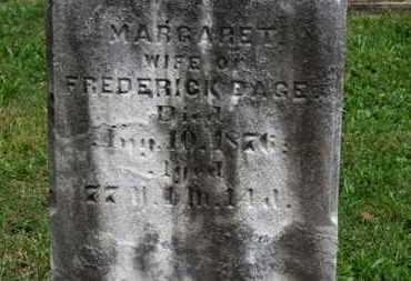 DAGE, MARGARET - Medina County, Ohio   MARGARET DAGE - Ohio Gravestone Photos