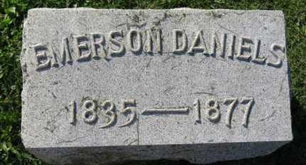 DANIELS, EMERSON - Medina County, Ohio | EMERSON DANIELS - Ohio Gravestone Photos