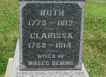 DEMING, CLARISSA - Medina County, Ohio   CLARISSA DEMING - Ohio Gravestone Photos