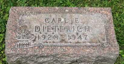 DIETERICH, CARL E. - Medina County, Ohio   CARL E. DIETERICH - Ohio Gravestone Photos