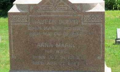 DOLCH, KASPER - Medina County, Ohio   KASPER DOLCH - Ohio Gravestone Photos