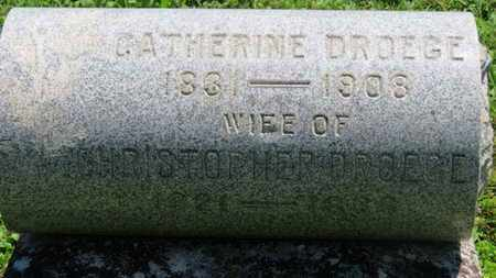 DROEGE, CHRISTOPHER - Medina County, Ohio   CHRISTOPHER DROEGE - Ohio Gravestone Photos