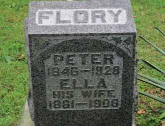 FLORY, ELLA - Medina County, Ohio | ELLA FLORY - Ohio Gravestone Photos