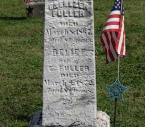FULLER, EBENEZER - Medina County, Ohio | EBENEZER FULLER - Ohio Gravestone Photos