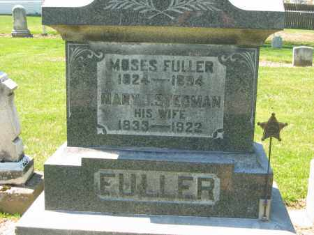 FULLER, MOSES - Medina County, Ohio | MOSES FULLER - Ohio Gravestone Photos