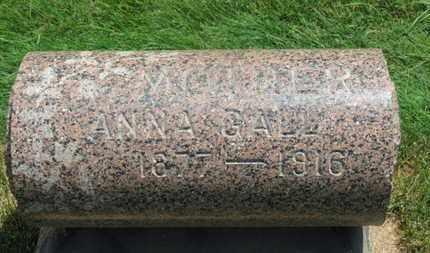 GALL, ANNA - Medina County, Ohio   ANNA GALL - Ohio Gravestone Photos
