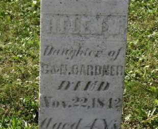 GARDNER, G. - Medina County, Ohio   G. GARDNER - Ohio Gravestone Photos