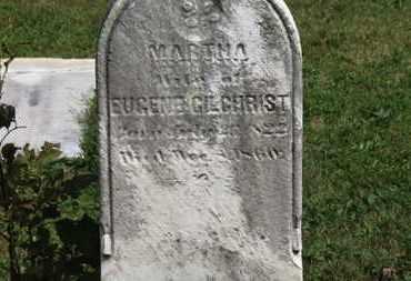 GILCHRIST, MARTHA - Medina County, Ohio | MARTHA GILCHRIST - Ohio Gravestone Photos