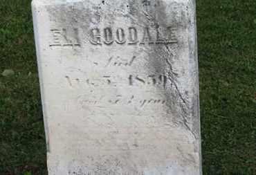 GOODALE, ELI - Medina County, Ohio | ELI GOODALE - Ohio Gravestone Photos