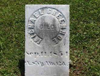 GREENHOE, MICHAEL - Medina County, Ohio | MICHAEL GREENHOE - Ohio Gravestone Photos