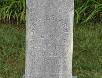 GROSS, JOHANNES - Medina County, Ohio | JOHANNES GROSS - Ohio Gravestone Photos