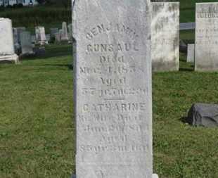 GUNSAUL, BENJAMIN - Medina County, Ohio | BENJAMIN GUNSAUL - Ohio Gravestone Photos