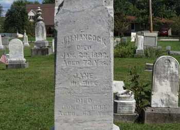 HANCOCK, J.H. - Medina County, Ohio | J.H. HANCOCK - Ohio Gravestone Photos