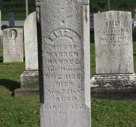 HANDEE, WARREN - Medina County, Ohio | WARREN HANDEE - Ohio Gravestone Photos