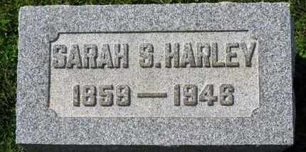 HARLEY, SARAH S. - Medina County, Ohio   SARAH S. HARLEY - Ohio Gravestone Photos