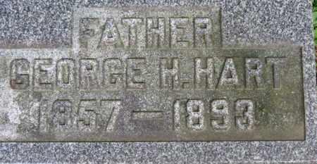 HART, GEORGE H. - Medina County, Ohio | GEORGE H. HART - Ohio Gravestone Photos