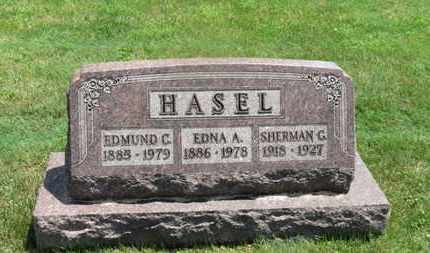 HASEL, EDMUND G. - Medina County, Ohio | EDMUND G. HASEL - Ohio Gravestone Photos