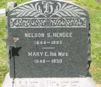 HENDEE, NELSON S. - Medina County, Ohio | NELSON S. HENDEE - Ohio Gravestone Photos