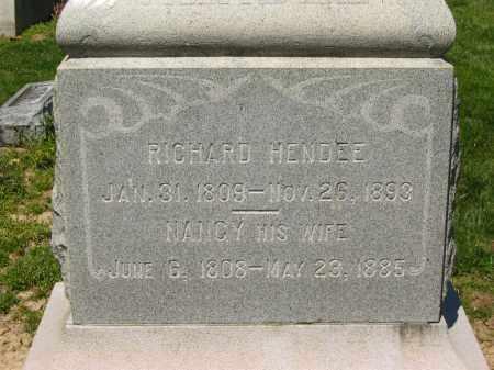 HENDEE, RICHARD - Medina County, Ohio | RICHARD HENDEE - Ohio Gravestone Photos