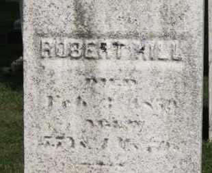 HILL, ROBERT - Medina County, Ohio | ROBERT HILL - Ohio Gravestone Photos