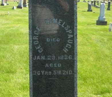 HIMELSPAUGH, GEORGE - Medina County, Ohio | GEORGE HIMELSPAUGH - Ohio Gravestone Photos