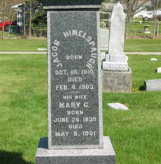 HIMELSPAUGH, JACOB - Medina County, Ohio | JACOB HIMELSPAUGH - Ohio Gravestone Photos