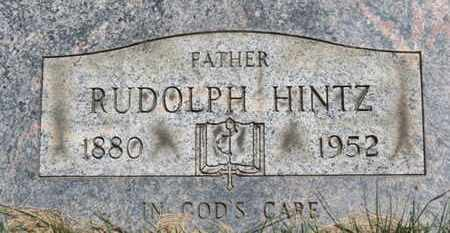 HINTZ, RUDOLPH - Medina County, Ohio   RUDOLPH HINTZ - Ohio Gravestone Photos