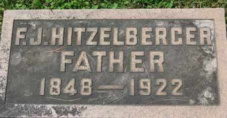 HITZELBERGER, F.J. - Medina County, Ohio | F.J. HITZELBERGER - Ohio Gravestone Photos