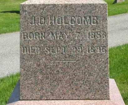 HOLCOMB, J. D. - Medina County, Ohio | J. D. HOLCOMB - Ohio Gravestone Photos