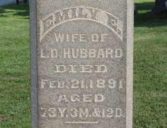 HUBBARD, EMILY E. - Medina County, Ohio | EMILY E. HUBBARD - Ohio Gravestone Photos