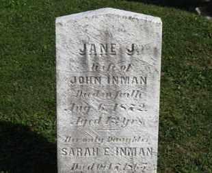 INMAN, SARAH E. - Medina County, Ohio | SARAH E. INMAN - Ohio Gravestone Photos