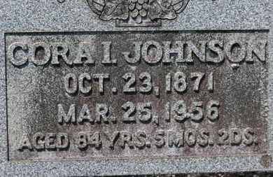 JOHNSON, CORA I. - Medina County, Ohio | CORA I. JOHNSON - Ohio Gravestone Photos
