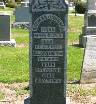 JOHNSON, NORMAN - Medina County, Ohio   NORMAN JOHNSON - Ohio Gravestone Photos