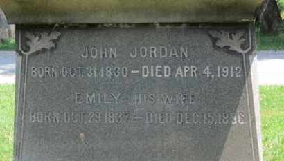 JORDAN, EMILY - Medina County, Ohio | EMILY JORDAN - Ohio Gravestone Photos