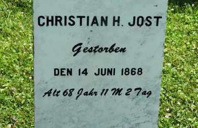 JOST, CHRISTIAN J. - Medina County, Ohio | CHRISTIAN J. JOST - Ohio Gravestone Photos