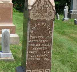 KELLER, EMMA C. - Medina County, Ohio | EMMA C. KELLER - Ohio Gravestone Photos