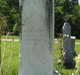 KLOOZ, LOUISE MAREA - Medina County, Ohio | LOUISE MAREA KLOOZ - Ohio Gravestone Photos