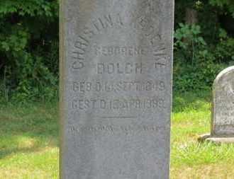 DOLCH KROENKE, CHRISTINA - Medina County, Ohio   CHRISTINA DOLCH KROENKE - Ohio Gravestone Photos
