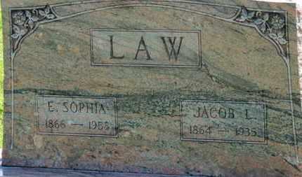 LAW, JACOB L. - Medina County, Ohio | JACOB L. LAW - Ohio Gravestone Photos
