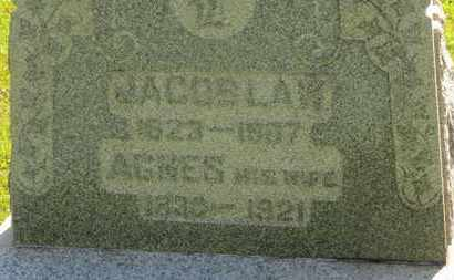 LAW, JACOB - Medina County, Ohio | JACOB LAW - Ohio Gravestone Photos