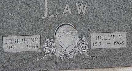 LAW, ROLLIE P. - Medina County, Ohio | ROLLIE P. LAW - Ohio Gravestone Photos