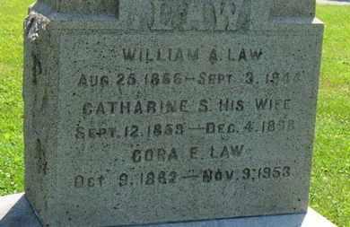 LAW, CORA E. - Medina County, Ohio | CORA E. LAW - Ohio Gravestone Photos