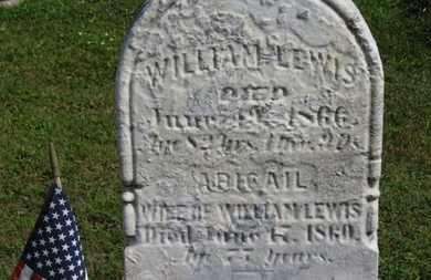 LEWIS, WILLIAM - Medina County, Ohio | WILLIAM LEWIS - Ohio Gravestone Photos