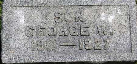 MACK, GEORGE W. - Medina County, Ohio | GEORGE W. MACK - Ohio Gravestone Photos