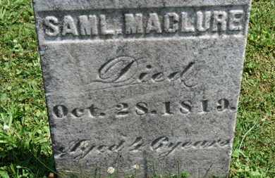 MACLURE, SAML. - Medina County, Ohio | SAML. MACLURE - Ohio Gravestone Photos