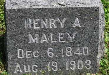 MALEY, HENRY A. - Medina County, Ohio | HENRY A. MALEY - Ohio Gravestone Photos